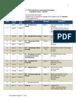 schedule itec7530 fall2015