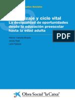 Aprendizaje y Ciclo Vital