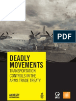 Deadly Movements - Transportation Controls in the Arms Trade Treaty
