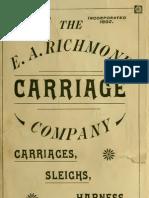(1890) The E.A.Richmond Carriage Company