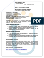 Momento 6. Sistema de Instrumentacion Medica