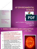 apes review five energy parta handout