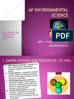apes review one earth handout