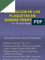 Citomorfologia y Conteo Plaquetaria