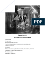 wind tunnel calibration lab report -- thomas santee