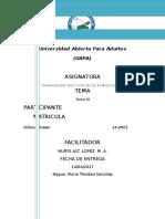 Tarea III Fundamento Del Curriculo Del Nivel Inicial-diliana Green