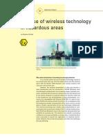 07the Use of Wireless Technology in Hazardous Areas