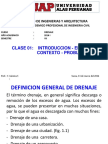 13032016 Clase 1 Drenaje UAP
