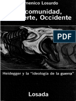 La Comunidad La Muerte Occidente Heidegger