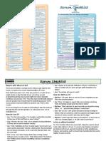 Scrum Checklist