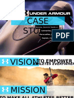 Under Armour Case Study Analysis