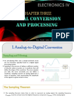 Chapter 3- Signal Conversion and Processing