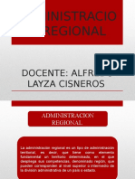 Administrativo Regional Grupal