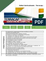 Edital Verticalizado Terracap Administrador