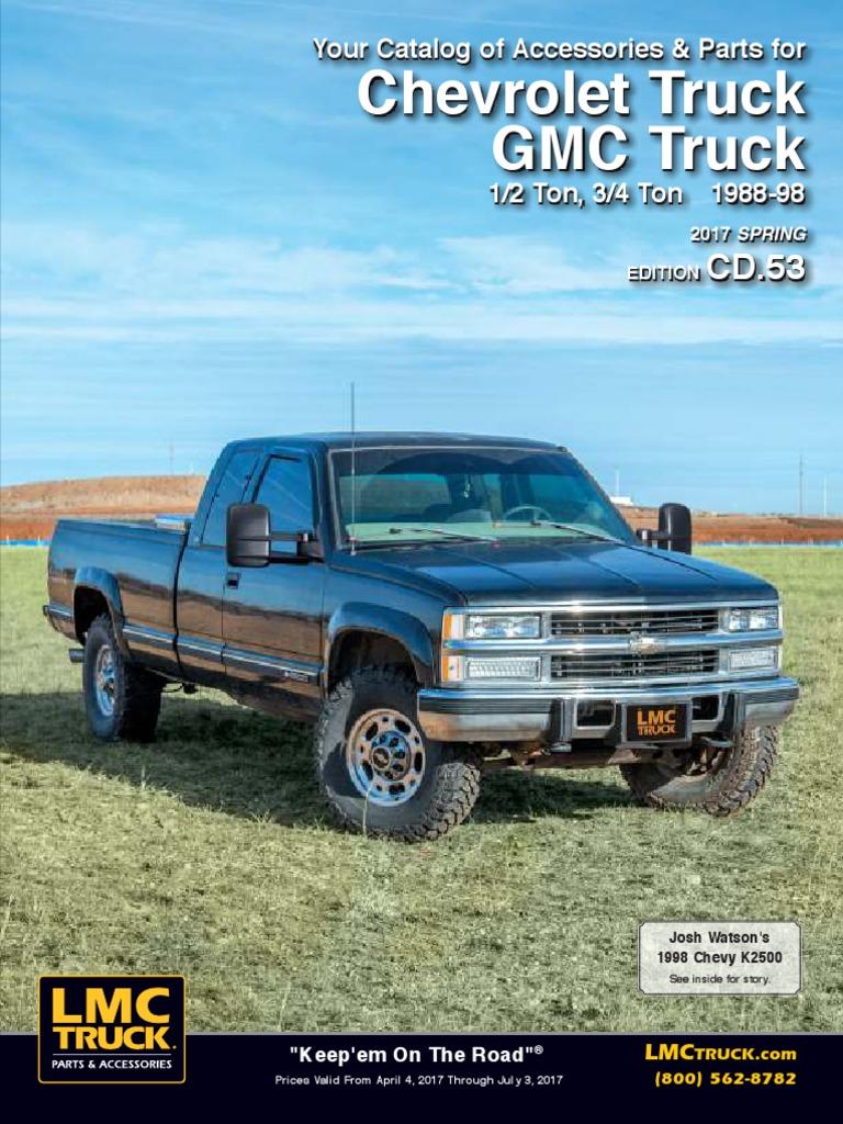 gmc sierra 98 accessories