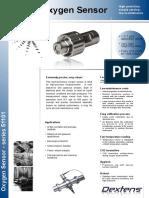 Dextens O2 Sensor Datasheet ENG