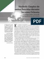 Bombas Suicidas en Los 80s, Military Review