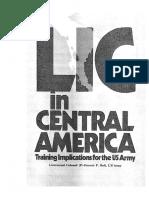 CBI en Centroamerica, Military Review