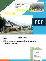 PROFIL PUSKESMAS SEWON I 2015.pptx