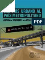 Arenas Hidalgo Del Pais Urbano Al Pais Metropolitano