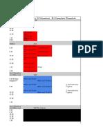 online testing schedule 2017