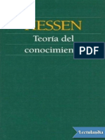 Teoria Del Conocimiento - Johannes Hessen