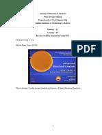 Lec7 Flexibility Method and Stiffness Method