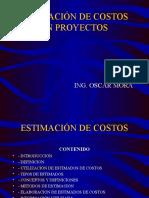 Estimación de Costos en Proyectos