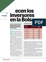 El Economista_Crecen Los Inversores en Bolsa de Valores. Parte 1