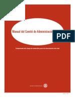 Manual Del Comite de Admin is Trac Ion