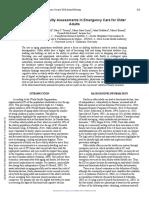 Tablet-Based Frailty Assessments in Emergency Care for Older Adults 2