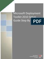 MDT 2010 Setup Step by Step