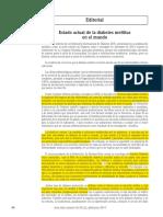 21.- 2013 - Estado Actual de La DMT2 en El Mundo