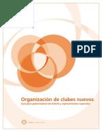 Manual Creacion de Un Club Rotario Nuevo