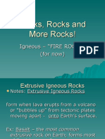 rocks rocks and more rocks -igneous  1