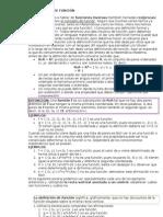 Funciones Dominio y Codominio (2)
