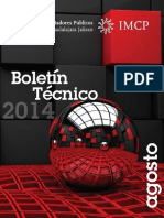 08-Boletin Tecnico 2014 Agosto