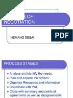 Process of Negotiation (2)