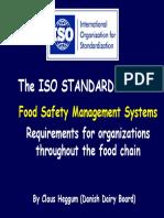 ISO Standard 22000 Presentation