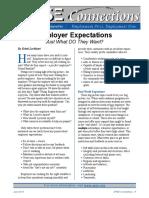 Employer Expectations by Kristi Lockhart