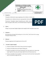 8.1.1.1. SOP Pemeriksaan Hemoglobin Dengan Hemoglobinometer (Mission Hb)