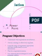 Negotiation Power Point