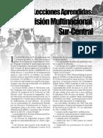 División Multinacional Sur-Centro, Military Review