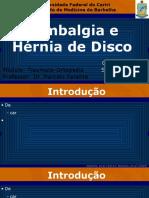 Lombalgia e Hérnia de Disco.pptx