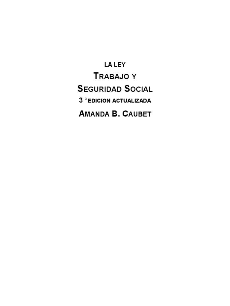 Manual de Laboral Caubet