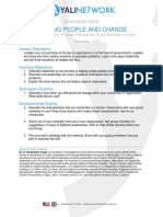 Leading People and Change Discussion Guide