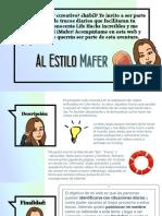 Texto Promocional - Al Estilo Mafer