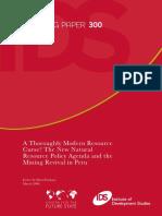 Arellano Yanguas, Javier (2008) A Thoroughly Modern Resource Curse.pdf