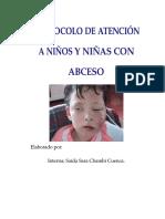 Protocolo de Atención a Niños y Niñas Con Abceso