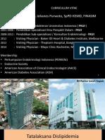 Clinical Mentoring 15 Tatalaksana Dislipidemia Oleh Dr. Johanes Purwoto Sp.pd Kemd Finasim